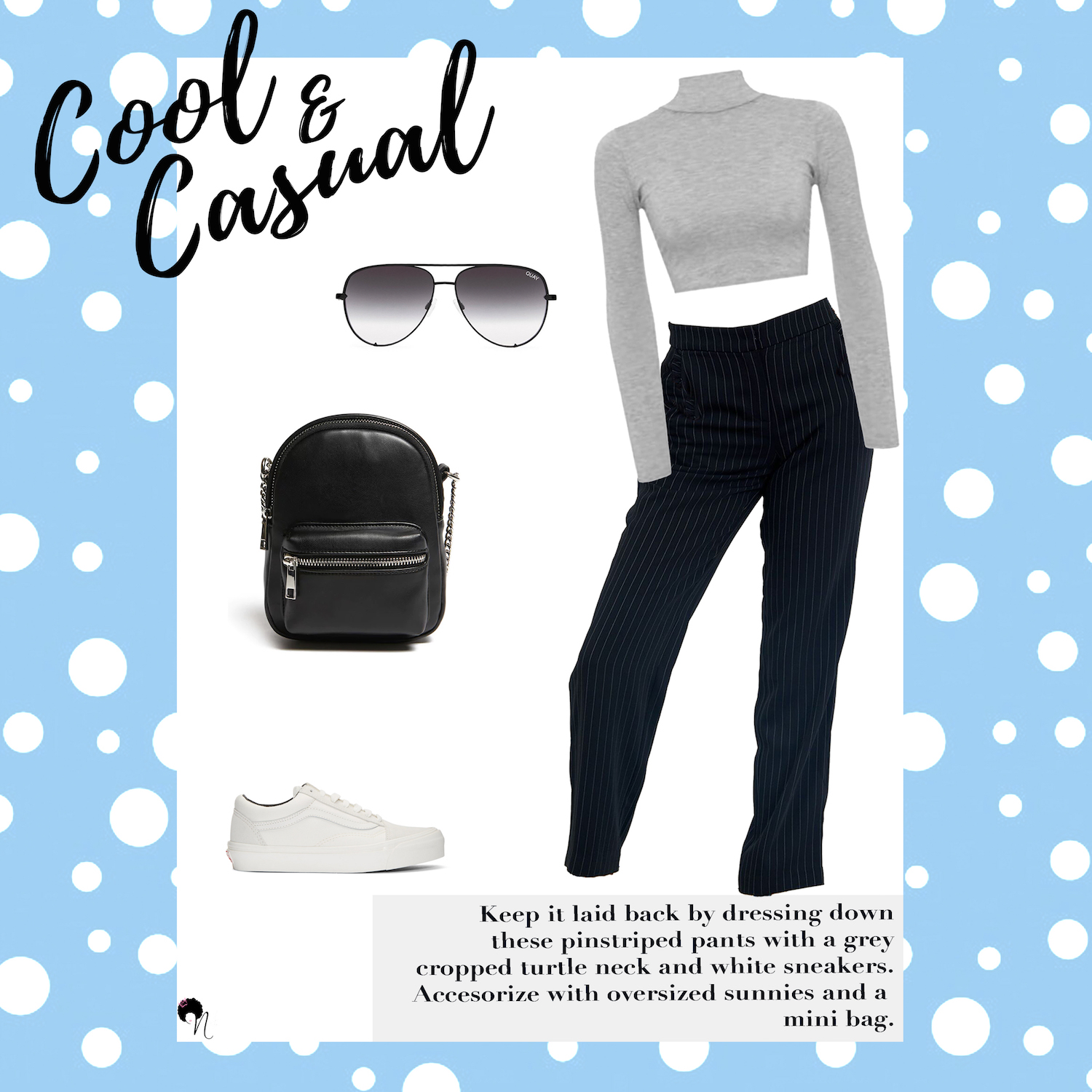Outfit grid: Cool & Casual