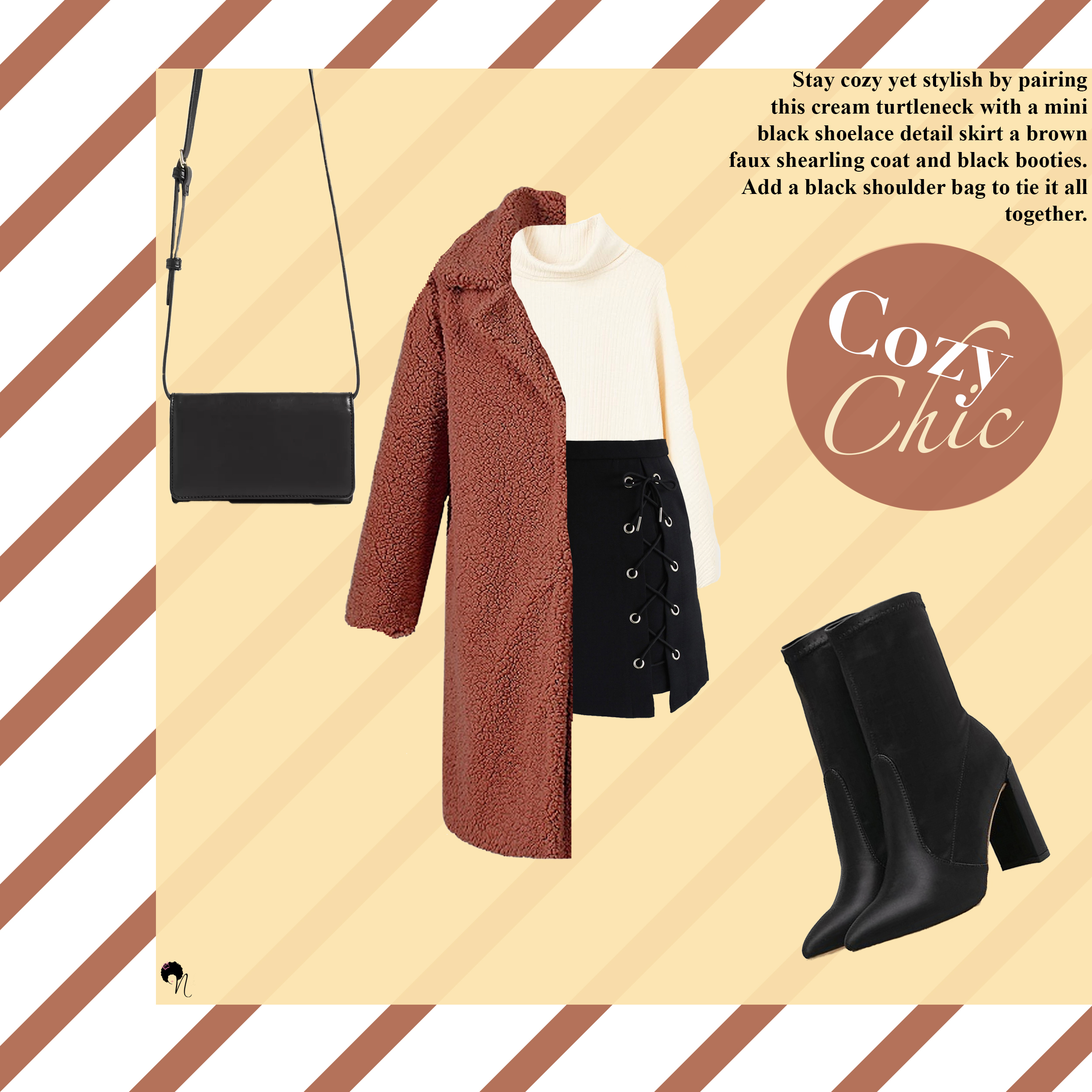 Outfit grid: Cozy Chic