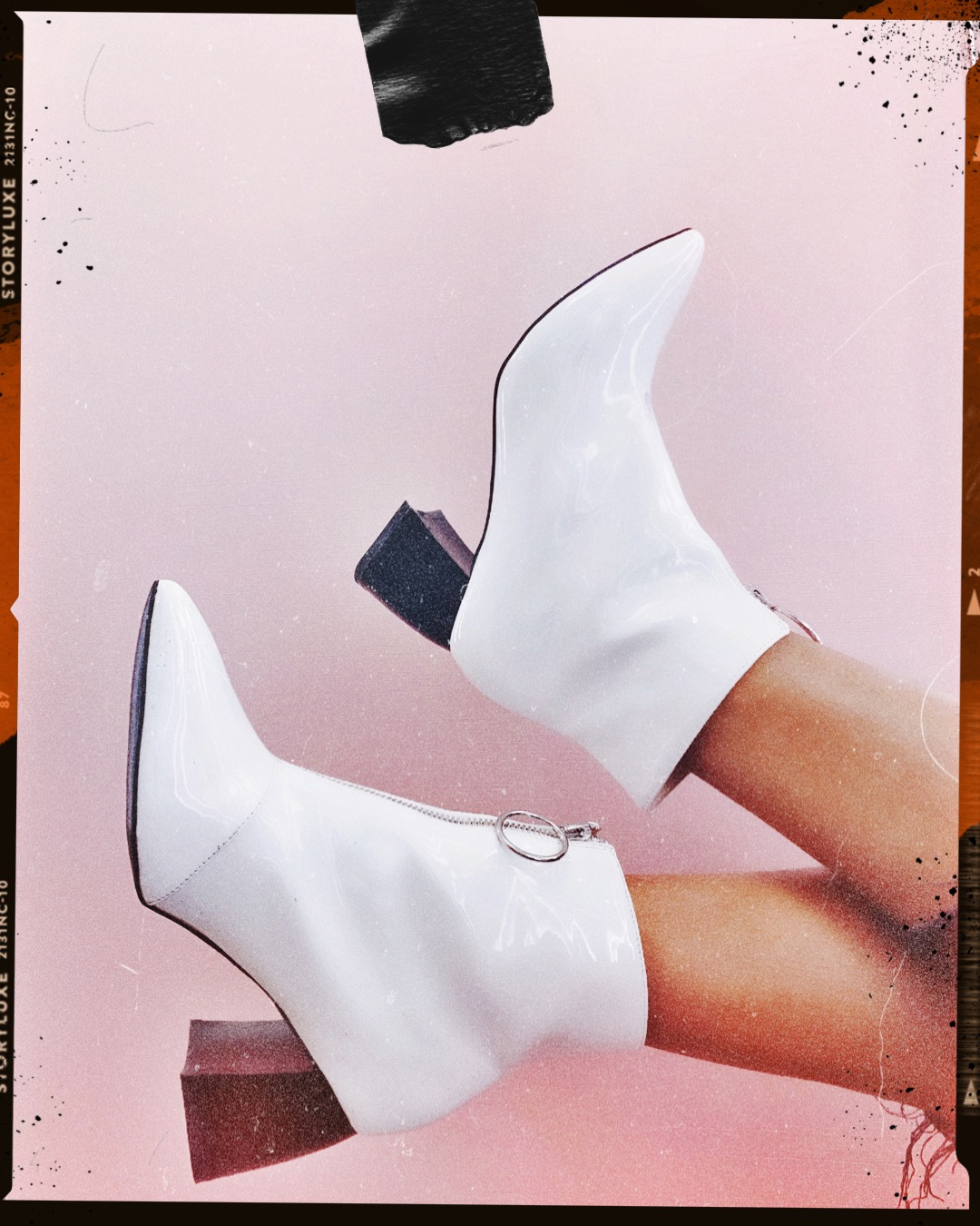 COLD FEET – Why you need white booties in your winter closet.